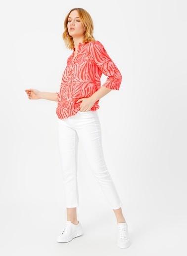 Fabrika Comfort Bluz Kırmızı
